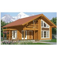China Wood Villa Manufacturer High Quality Wooden Villa