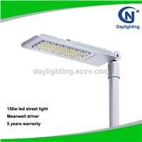 110LM/W Osram Chip Meanwell Driver 5 Years Warranty 150W LED Street Light