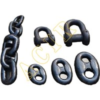 AM2 AM3 Stud Link Anchor Chain Dia. 12.5mm to 100mm