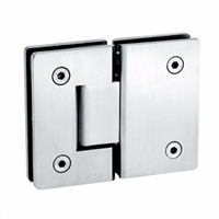 Adjustable Shower Hinge 180 Degrees Rotatable Glass Door Hinge