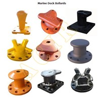 Kidney, Staghorn, Tee, Curved, Y, J, R Type Dock Bollard