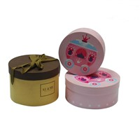 OEM Printing Paper Gift Boxes Tube Box Round Shape Boxes