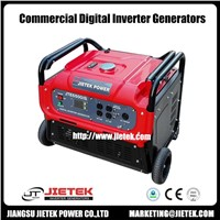 Air Cooled 5500 Watt Single Phase Inverter Gasoline Generator Set