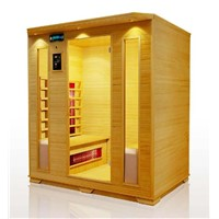 Dry Wooden Sauna Room Wood Steam Bath Room