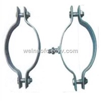 FTTH Fiber Optic Hook Metal Clamp for Pole