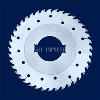 Multirip Circular Saw Blade with the Raker