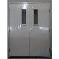 Commercial Used Double Leaf Swing Door