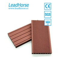 WPC Outdoor Flooring Wood Plastic Composite Decking for Garden