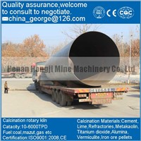 Factory Price Good Quality Low Grade Iron Ore Rotary Kiln Sold To Balkan Oblast