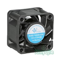Powerful Mini 12v 24v 40mm 4028 40x40x28mm Axial Flow DC Fan