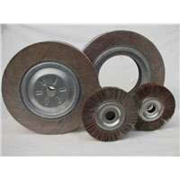 300x50x32mm Grit 120# Aluminum Oxide Flap Wheel with Large Hole for Polishing & Grinding Metal & Knives