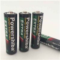 R6P 1.5V Um-3 AA Zinc Carbon Battery AA, Um3 AA Battery R6P Non-Rechargeable 1.5V Battery