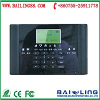 LCD Screen Wireless Home Security GSM Alarm System 6 Languages Android / IOS APP Remote Control BL-6000