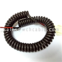 Tinsel Conductor Spiral Coil Cable