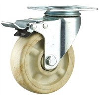 Medium Duty Double Ball Bearing High Temp Nylon Caster