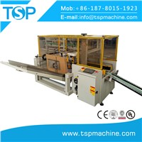 New Automatic Canton Box Case Erector with Bottom Sealer Machine