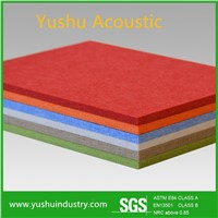 Embossed Fireproof Polyester Fiber Acoustic Board