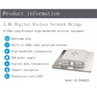 15km 25dbi High Gain Video Transmitter, Community Wireless Monioring System