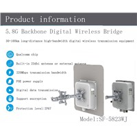 5.8G 30-100KM Outdoor Monitoring System, GPRS Wireless Monitoring, Factory Wireless Monitoring
