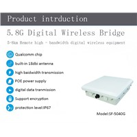 5-8km Long-Distance High Bandwidth Digital Wireless Equipment