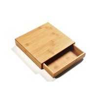 Bamboo Drawer PU Erh Tea Cake Packing Box