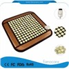 Massage Cushion Fir & Negative Ions Heating Jade Stone Therapy Mini Mat Seat Pad