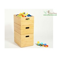 Bamboo Wooden Toy Box