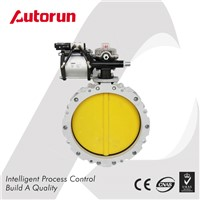PNEUMATIC FLANGE CEMENT POWDER BUTTERFLY VALVE