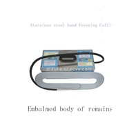 Stainless Steel Hand Freezing Coffin/Embalmed Body Of Remains