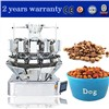 Nuts, Coffee Beans, Animal Feeds Weighing & Packaging Machine with Multihead Weigher