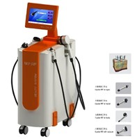 3D Multipolar RF Vacuum Cavitation RF3.6 Beauty Salon Anti Aging & Body Slimming Beauty Machine for Fat Reduction