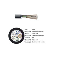 Armored GYTA 96 Core Fiber Optic Cable for Relay Communication System