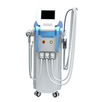 Multifunctional Beauty System with Elight, RF & ND YAG Laser Handles for Breast Liftup, Hair Removal, Skin Rejuvenation