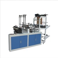 Double Layer Four Lins Cool Cutting Bag Making Machine