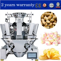 Prawn Crackers Weigher / Multiweigh Weigher for Prawn Crackers