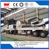 Efficient Tire Type Mobile Stone Crushing Station Plant
