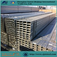 Black Square & Rectangular Hollow Section Structural Steel Tubes