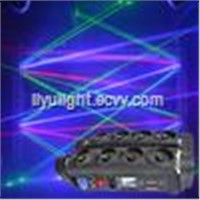 Moving Head Fat Beam Laser Light 8 Lens Eyes RGB Laser Curtain RGB Moving Head Beam Dj Disco Stage Laser Lighting