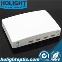 Indoor Fiber Optic 4 Core Terminal Box