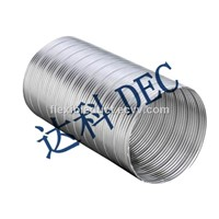 Value-Price Semi Rigid Aluminum Duct Non Combustible Aluminum Flexible Air Duct