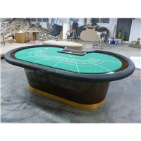 Casino Baccarat Table Poker Table for Multi Game