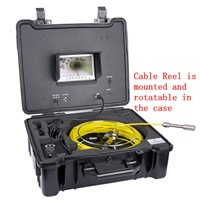 20/30/40m Pipeline Drain Sewer Duct TV Inspection Camera