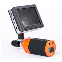 Wireless Handler with Monitor for Endoscpe Borescope Inspection Camera