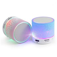 Portable Mini Coloful LED Bluetooth Speaker with Light Pulse for Mobile & Computer Speaker with FM Radio