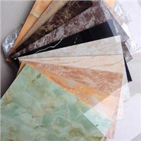 PVC UV Marble Solid Panel Wall Cladding Sheet