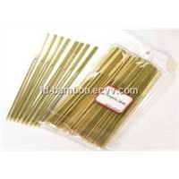 Flag Green Bamboo Sticks// Golf Sitcks with Handle