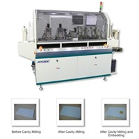 Smart Card Combined Automatic Milling & Embedding Machine