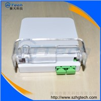 Hua Wei 2Cores SC / APC Fiber Optic Terminal Box