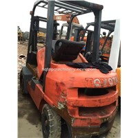 Used Japanese Original Forklift For Sale, Toyota FD30 3t Forklift