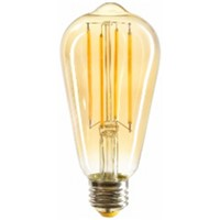 LED St64 4w Filament Bulb Interior Decoration EU Classical Royal Retro Crystal Lamp House Hotel Light